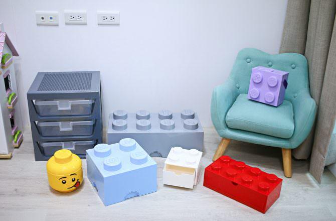 【團購】樂高LEGO收納盒 可以拚的積木收納盒 顏色繽紛又充滿童趣