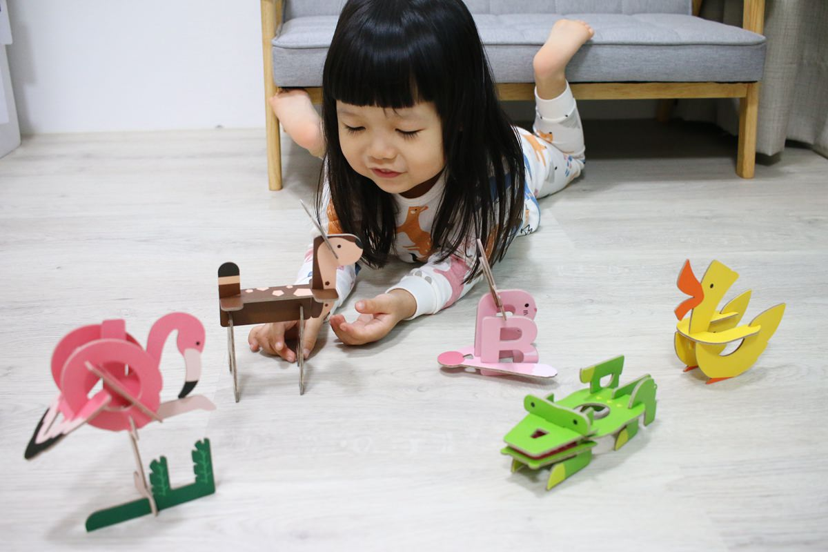 韓國FUNT 英文字母立體拼圖087