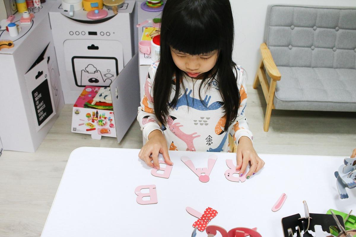 韓國FUNT 英文字母立體拼圖099