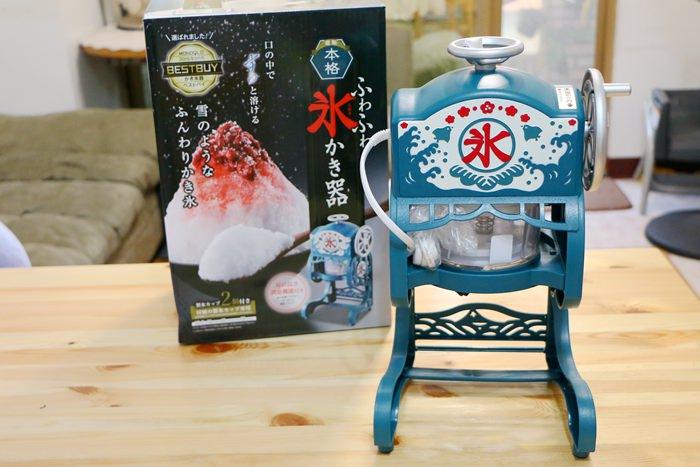 日本DOSHISHA 復古款電動刨冰機和Qtona大人的製冰機~剉冰自己做最安心