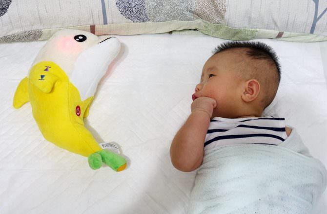 蕉香海豚寶寶安撫玩具  哄睡、安撫哭鬧新生兒的好幫手~
