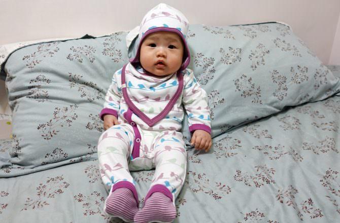 英國Pigeon Organics有機棉嬰兒服飾 新生兒彌月禮的選擇