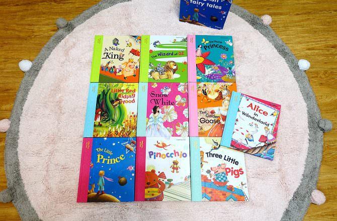 【大新幼兒英語點讀系列】English Fairy Tales 童話故事英語點讀 增進孩子未來英文閱讀以及寫作能力