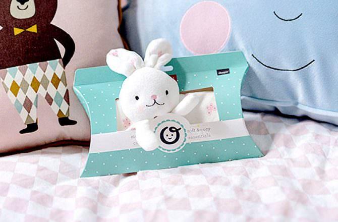 【安撫巾推薦+團購】Choopie  CityCozy 玩偶安撫巾 觸感柔軟細緻、純淨又可愛