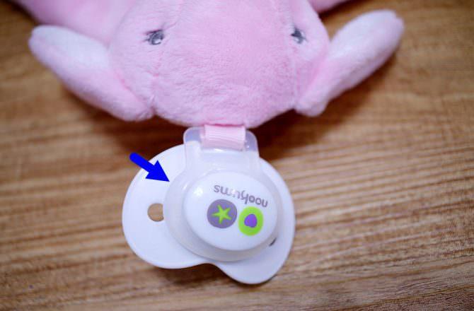 Nookums奶嘴玩偶 不只是奶嘴還兼具安撫玩偶與安撫巾功能