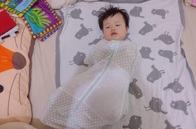 【嬰兒懶人包巾推薦】Woombie寶寶好眠成長包巾 可以從0m用到18個月的懶人包巾
