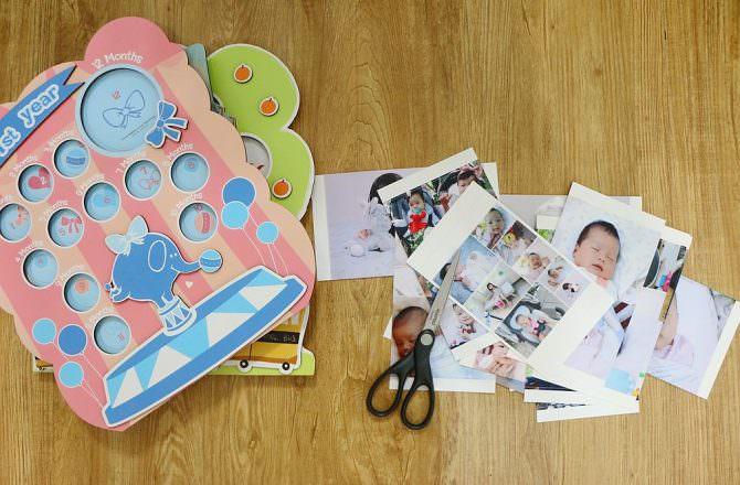 Gifthing 孕媽咪懷孕紀錄本、寶寶周歲相框、寶寶紀念相本 給自己以及寶寶一個永恆的紀念