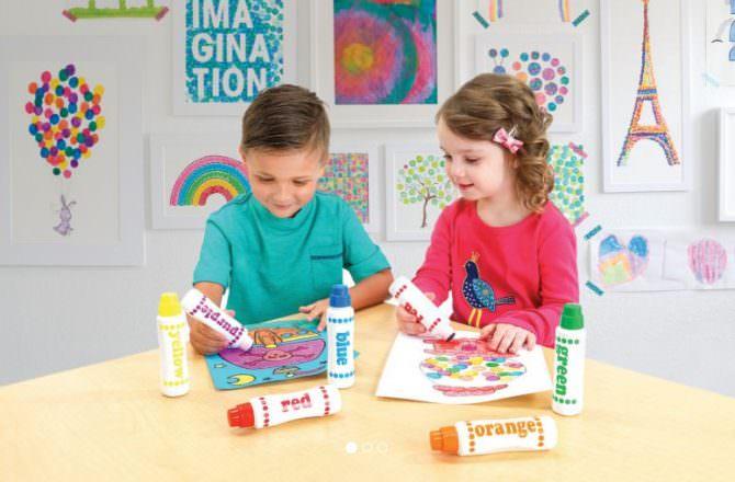 韓國AMOS水蠟筆& AMOS玻璃蠟筆 無毒安全好清理~就讓寶貝快樂地恣意揮灑作畫吧
