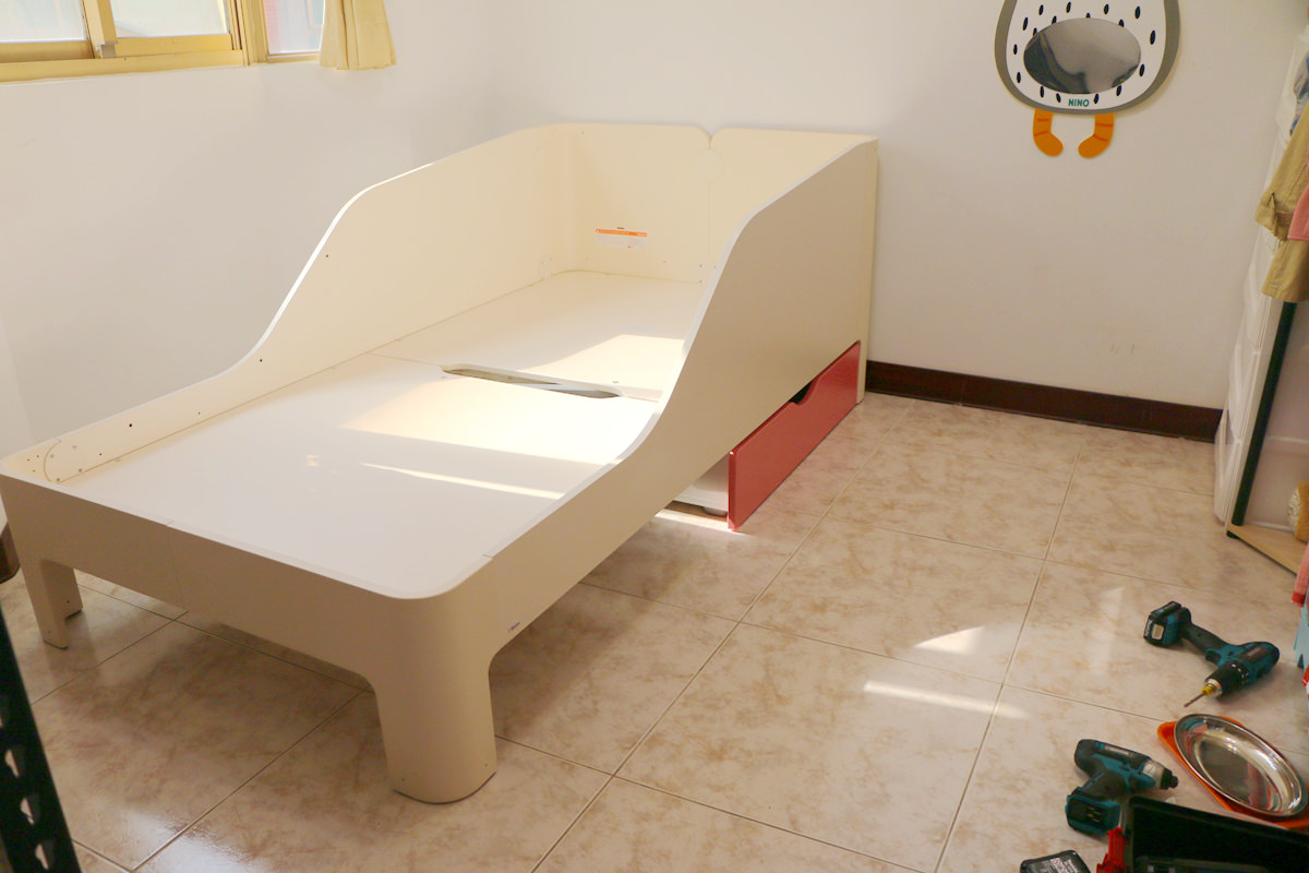 組裝式抽屜-兒童床推薦