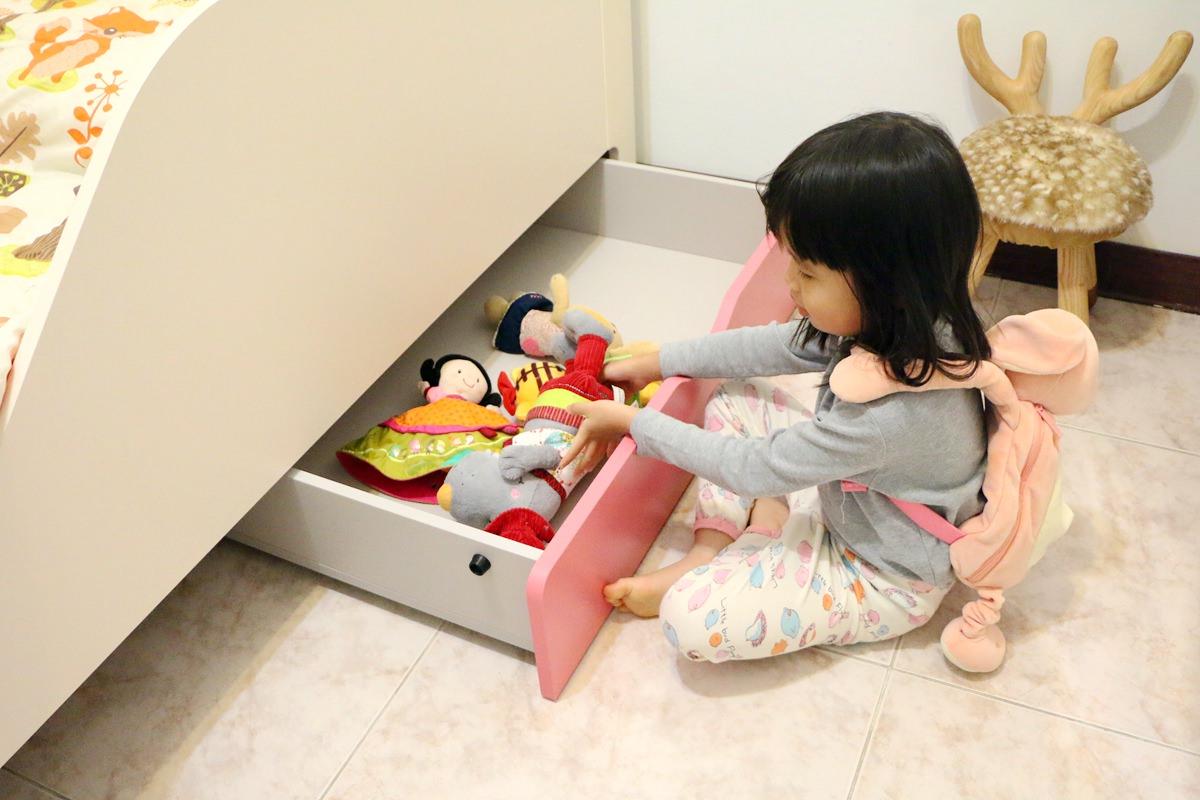 滑動式抽屜-兒童床推薦