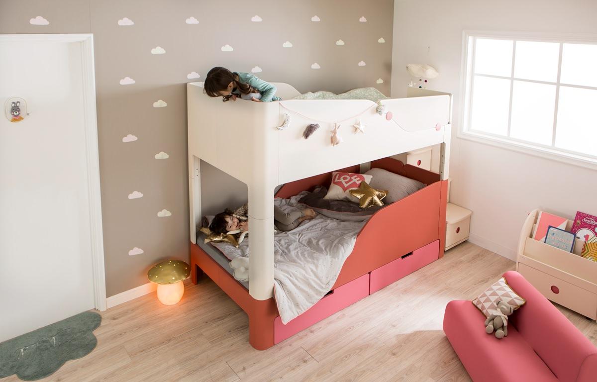 上下舖兒童床-兒童床推薦