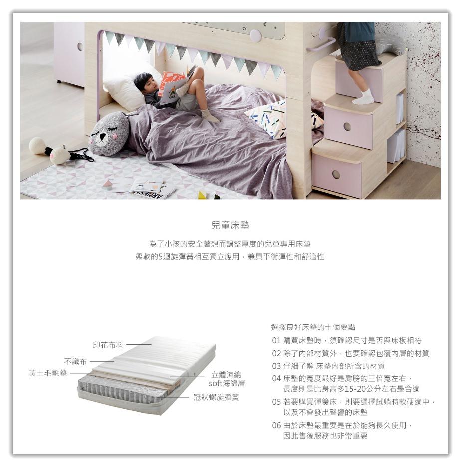 兒童專用床墊-兒童床推薦