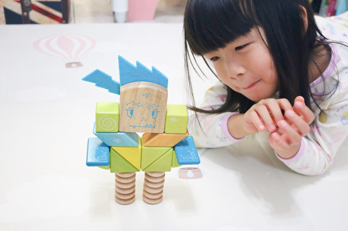 【團購】tegu 磁性積木 讓孩子動腦、培養專注力、建構創造概念的幾何積木