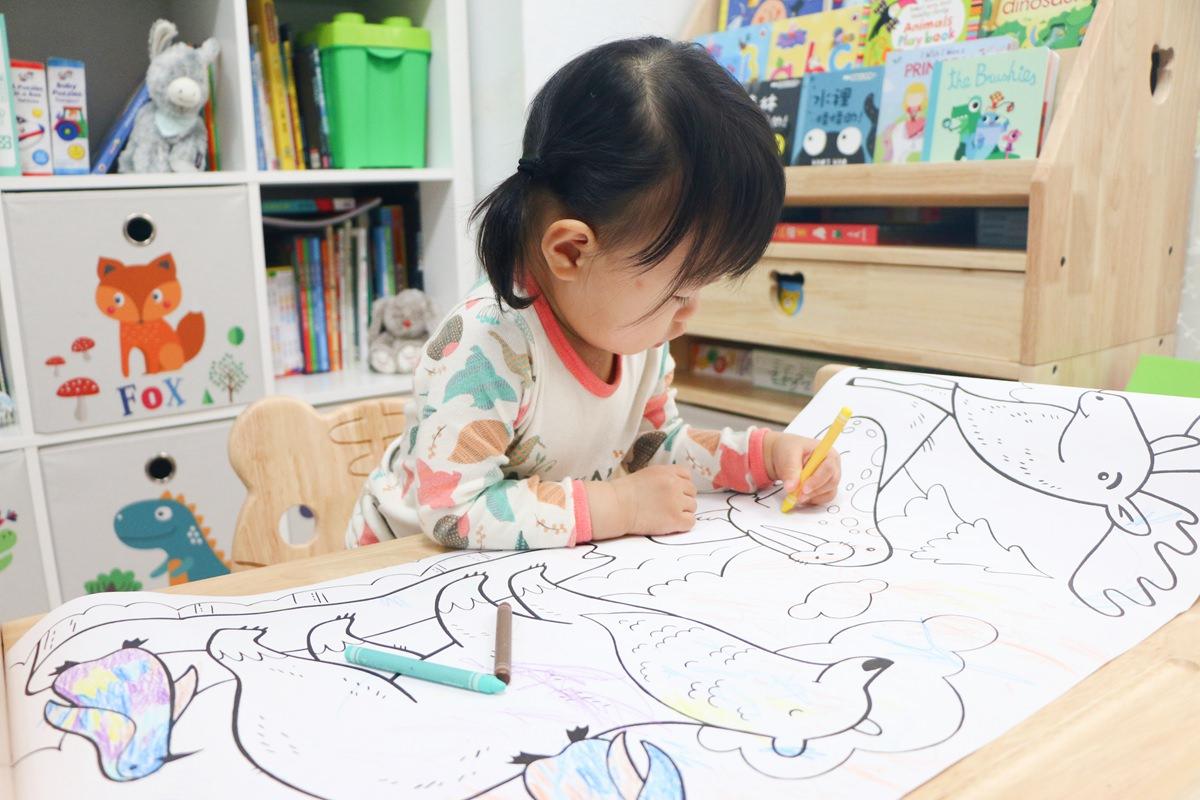N次貼著色畫軸、N次貼創意手冊、描圖彩繪勞作本 ~讓孩子發揮想像力,滿足盡情黏貼的樂趣