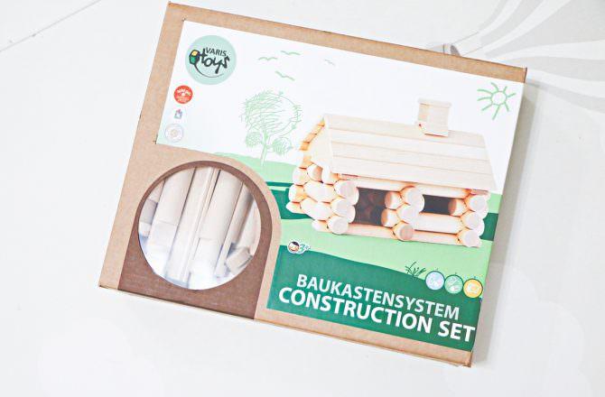 VARIS木製建構積木 讓孩子發揮創造力與想像力的建構積木