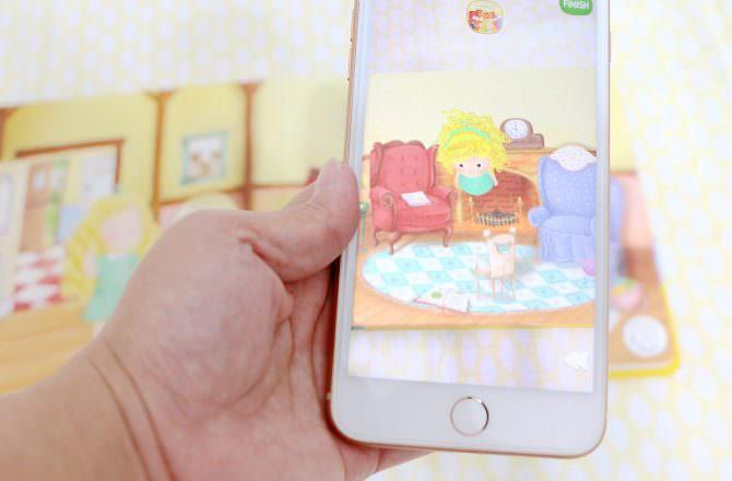 【團購】AR 4D 童話故事書(360度立體童話Augmented Reality) 可以互動的故事書