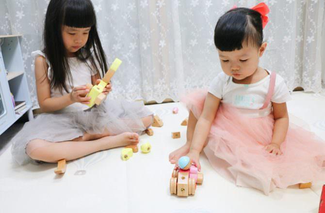 韓國 EQB 益智旋轉積木, 訓練孩子手眼協調和小肌肉的操作