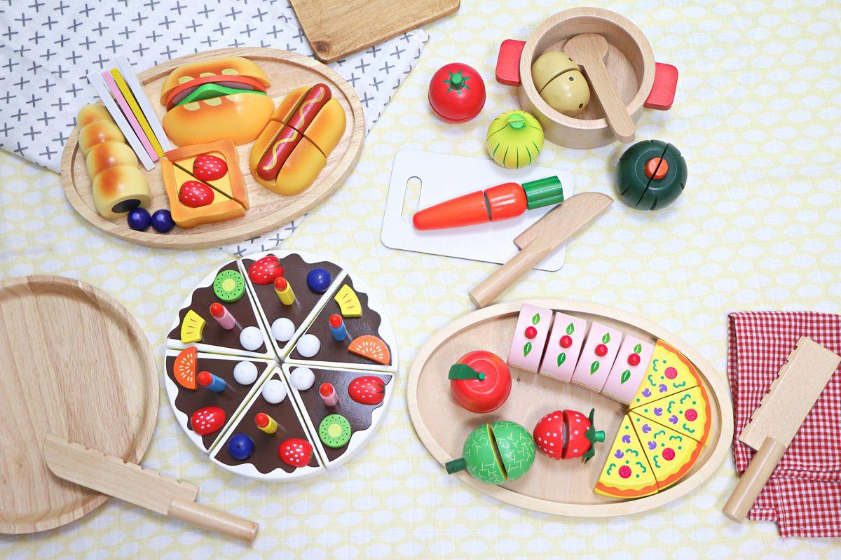 【團購】日本ED Inter知育木玩、木質切切樂  深受孩子喜愛、可以玩好久的木製玩具~