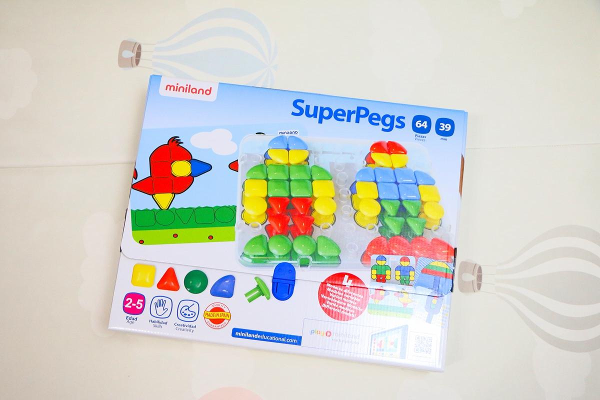 西班牙Miniland 幼兒益智玩具 訓練小手精細、啟發大腦認知與潛能的教玩具