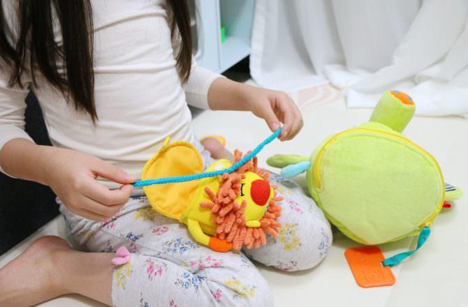 法國Dolce多功能感統玩偶 滿足寶寶聽覺、觸覺、探索慾望的好物