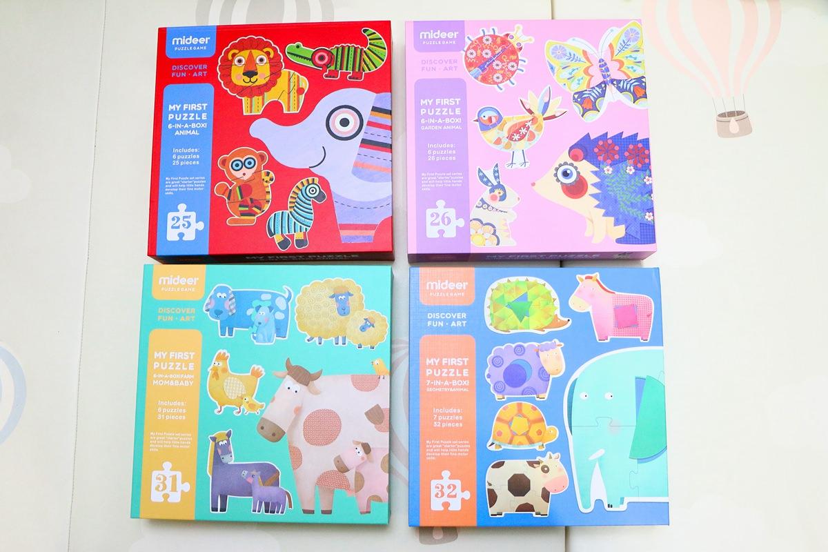 【團購】MiDeer拼圖 滿足各個年齡、陪伴孩子成長的益智遊戲品牌