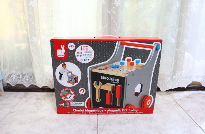 【團購】法國Janod 小木匠工具車、磁鐵遊戲書、繞珠玩具  0歲以上的寶寶的益智遊戲