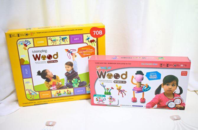 韓國WAVE 魔力建構波波棒 培養孩子專注力、發揮創造力的好物。