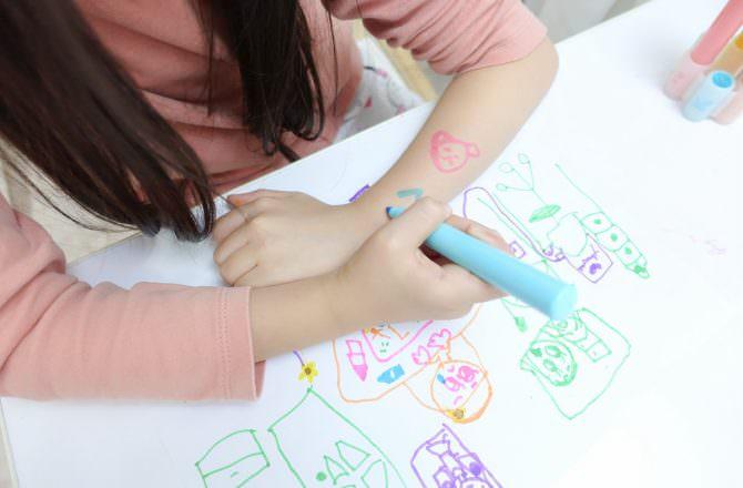 【團購】韓國SNOWKIDS畫畫用品  馬卡龍的粉嫩色系好繽紛