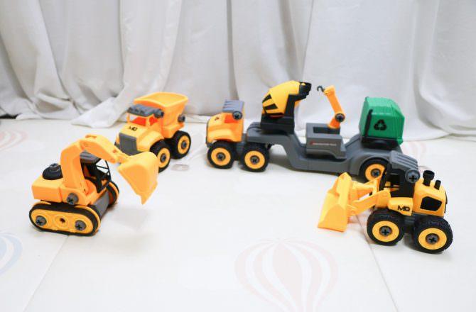 MQ SMART 積木車,訓練小手精細、從拆解中了解建構的觀念
