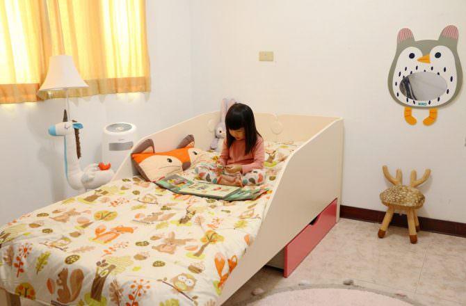 【兒童床推薦】iloom怡倫家居 Tinkle-pop 單層床組 一張陪伴孩子成長的好床