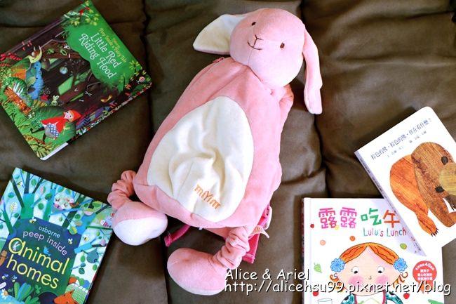 miYim有機棉動物後背包 邦妮兔兔