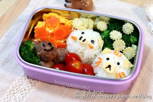 美國Kangovou 小袋鼠不銹鋼安全餐盒