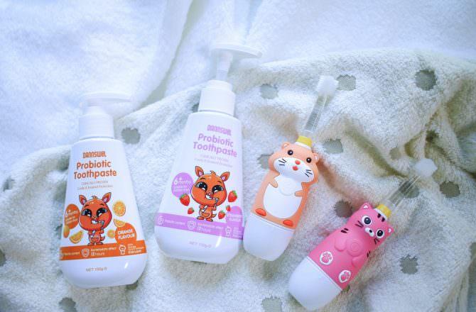 【團購】Mega Ten 360度幼童電動牙刷和DANNSWEL兒童益生菌牙膏