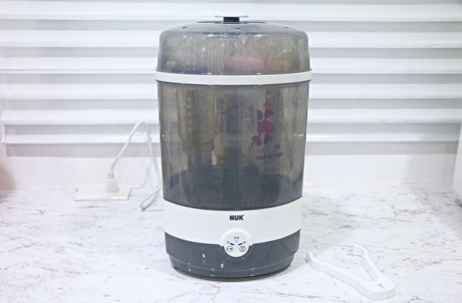 NUK 二合一蒸氣烘乾消毒鍋 操作方便又簡單、使用期長~